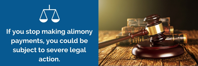 Stopped Paying Alimony? Here Is What Will Happen